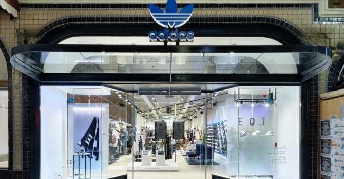 Adidas - Granville St., Vancouver